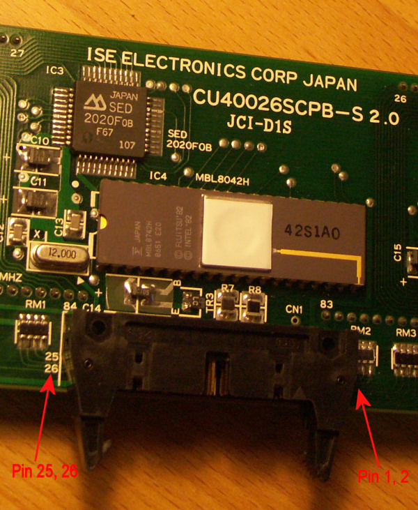 ISE Electronics CU40026SCPB-S2 0 AVR code example